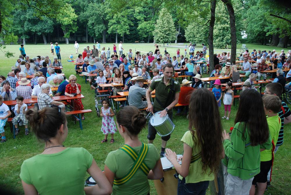 Sambagruppe der Montessori-Schule