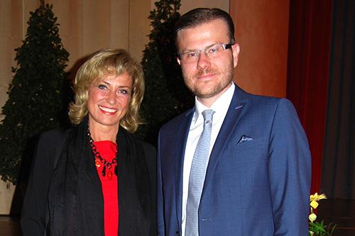 Dagmar Wöhrl MdB und Marcus König (Stadtrat)