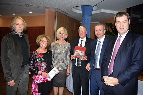 von links: Dr. Klaus-M. Seel, A. Gröschner, Prof. Dr. J. Lehner, Prof. Dr. H. Rusam, Dr. U. Maly und Dr. M. Söder