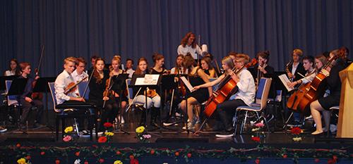 Oberstufenorchester der Rudolf Steiner-Schule Nürnberg