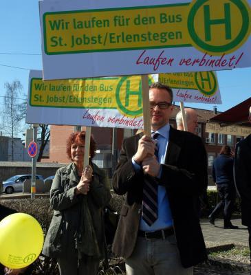 Stadträte G. Penzkofer-Röhrl(SPD) und Dr. M. Reindl(CSU)
