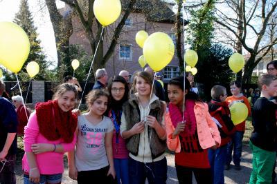 Schüler der Konrad-Groß-Schule