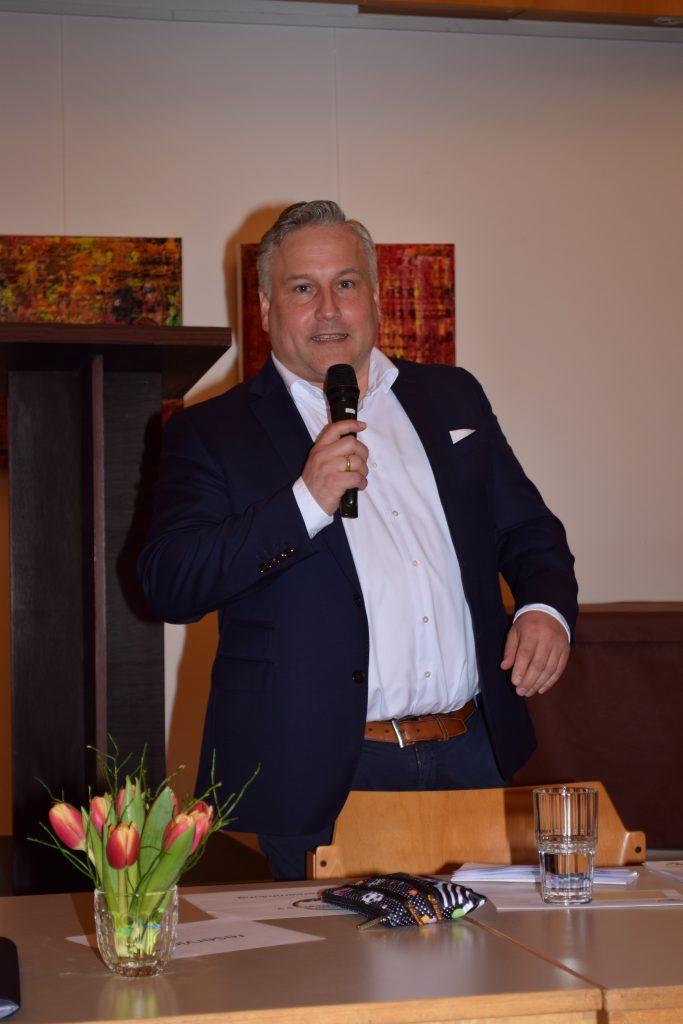 Der neue 1. Vorsitzende Jörg Brunner