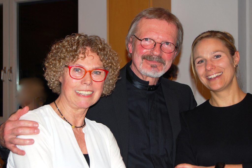 Ehepaar Gröschner mit Tochter