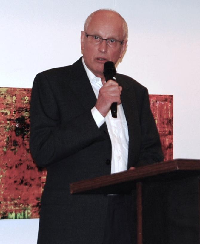 Laudator Dr. Dieter Kunstmann